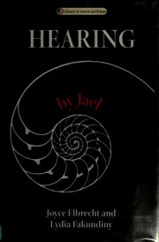 Cover of: Hearing by Jael | Joyce Elbrecht