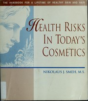 Cover of: Health Risks in Today's Cosmetics