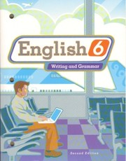 Cover of: English 6