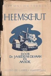 Cover of: Heemschut