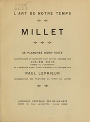 Cover of: Millet