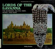 Cover of: Lords of the savanna | Philip Koslow
