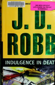 Cover of: Indulgence in death