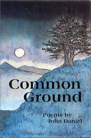 Common Ground by John Daniel
