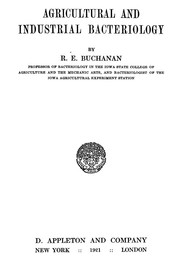 Cover of: Agricultural and industrial bacteriology | Robert Earle Buchanan