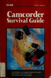 Cover of: Camcorder survival guide