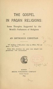 Cover of: The gospel in pagan religions ...