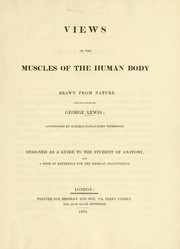 Cover of: Views of the muscles of the human body
