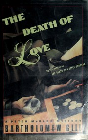 Cover of: The death of love