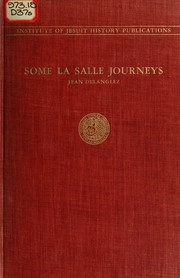 Cover of: Some La Salle journeys