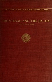Cover of: Frontenac and the Jesuits