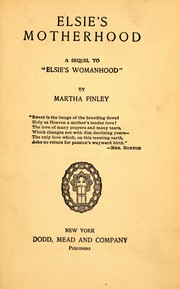 Cover of: Elsie