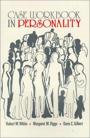 Cover of: Case Workbook in Personality