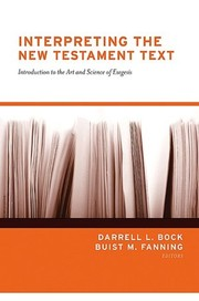 Cover of: Interpreting the New Testament Text