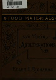 Cover of: Food materials and their adulterations. | Ellen Henrietta Richards