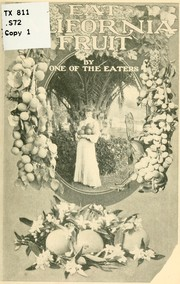 Cover of: Eat California fruit
