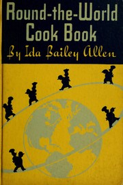 Cover of: The round-the-world cook book