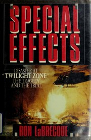 Cover of: Special effects | Ron LaBrecque