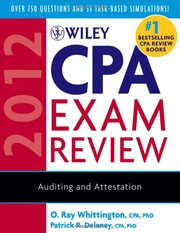 Cover of: Wiley CPA exam review |