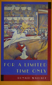 Cover of: For a limited time only | Ronald Wallace