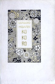 Cover of: Kokoro by Lafcadio Hearn