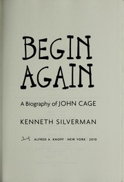Cover of: Begin again