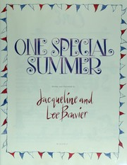 Cover of: One special summer