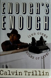 Cover of: Enough's enough (and other rules of life)