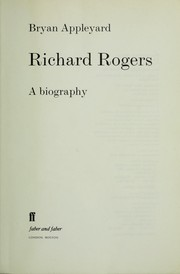 Cover of: Richard Rodgers