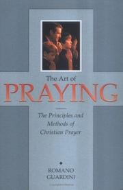 Cover of: The art of praying