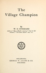 Cover of: The village champion