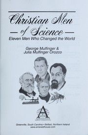 Cover of: Christian men of science | George Mulfinger