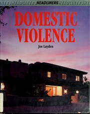 Cover of: Domestic violence