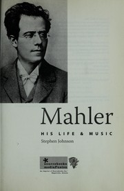 Cover of: Mahler