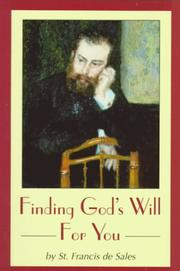 Cover of: Finding God's will for you