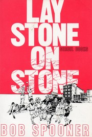 Cover of: Lay stone on stone