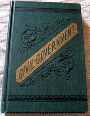Cover of: Civil Government |