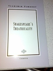 Cover of: Shakespeare's Theatricality
