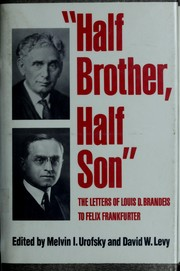 Cover of: Half Brother, Half Son