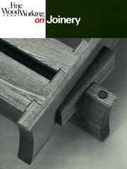 Cover of: Joinery (Fine Woodworking On)