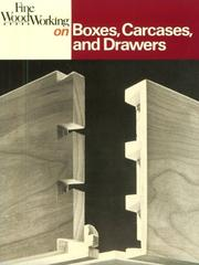 Cover of: Fine Woodworking on Boxes, Carcases, and Drawers