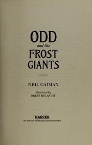 Cover of: Odd and the Frost Giants
