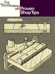 Cover of: Proven Shop Tips (Fine Woodworking On)