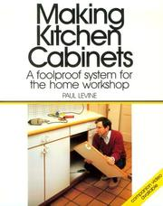 Cover of: Making kitchen cabinets