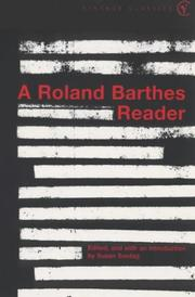 Cover of: Selected Writings of Roland Barthes