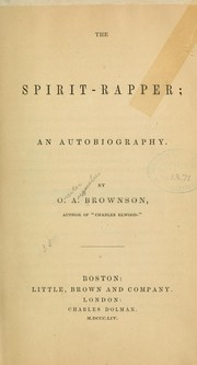Cover of: The spirit-rapper: an autobiography