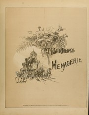 Cover of: P.T. Barnum's menagerie