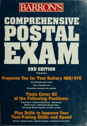 Cover of: Comprehensive postal exam