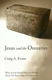 Cover of: Jesus and the Ossuaries