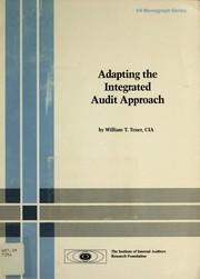 Cover of: Adapting the integrated audit approach